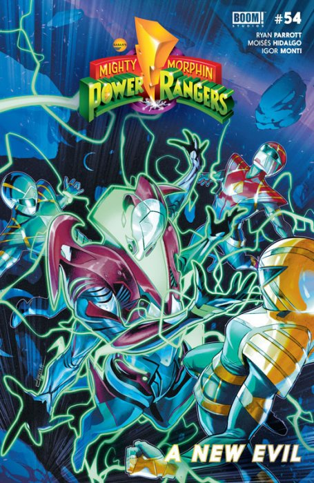 Mighty Morphin' Power Rangers #54
