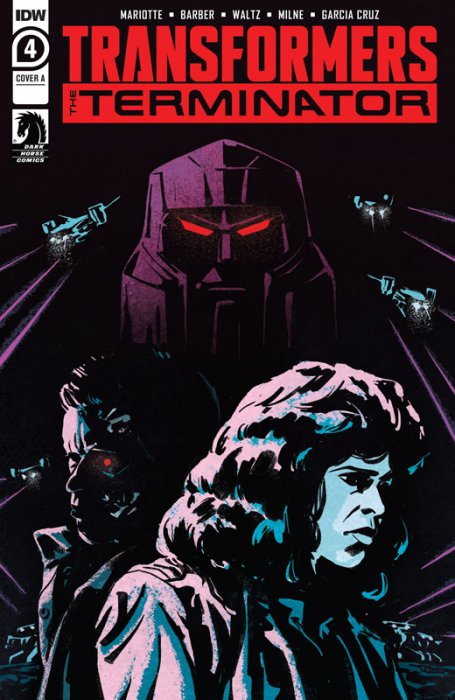 Transformers vs. the Terminator #4