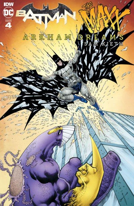 Batman - The Maxx - Arkham Dreams #4