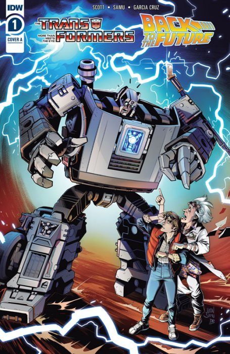 Transformers - Back to the Future #1