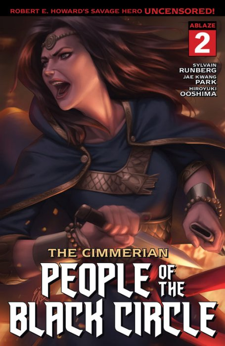 The Cimmerian - People of the Black Circle #2