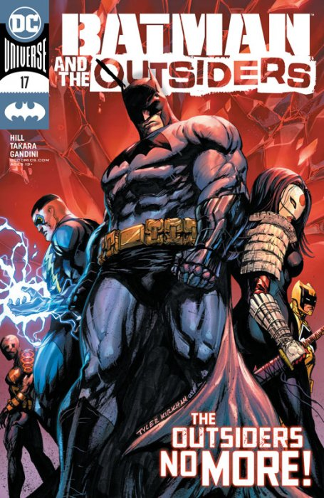 Batman & the Outsiders #17