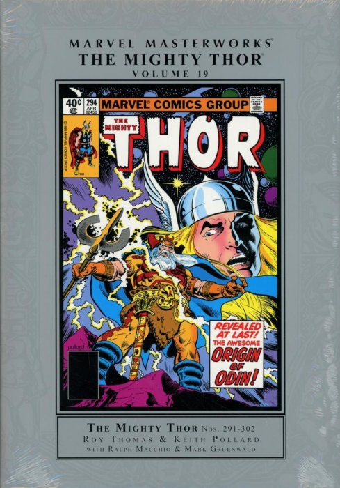 Marvel Masterworks - The Mighty Thor Vol.19