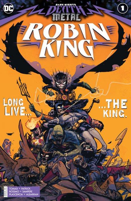 Dark Nights - Death Metal - Robin King #1