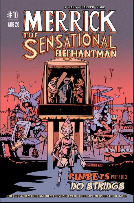 Merrick - The Sensational Elephantman #10