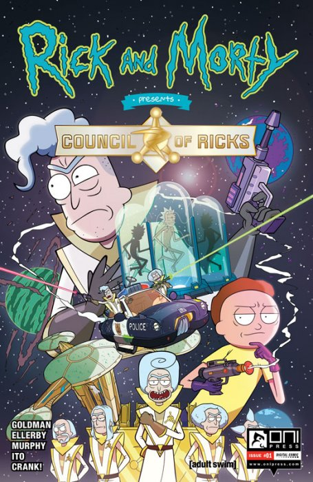Rick and Morty Presents - Council of Ricks #1