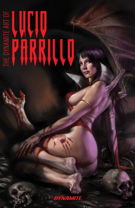 The Dynamite Art of Lucio Parrillo #1 - HC