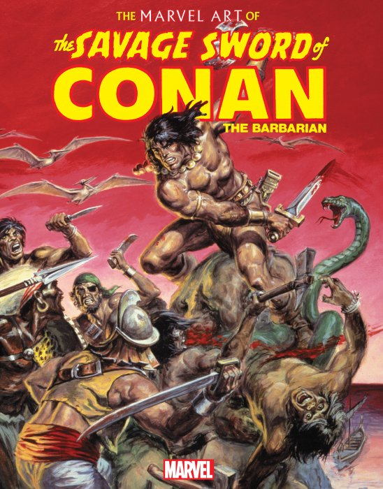 The Marvel Art of Savage Sword of Conan #1