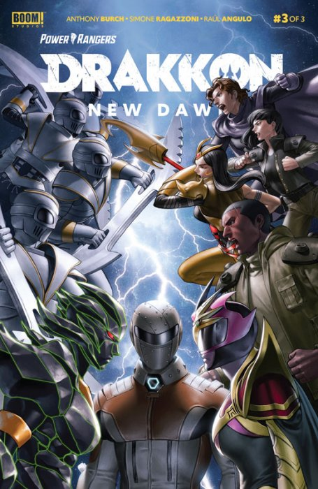 Power Rangers - Drakkon New Dawn #3