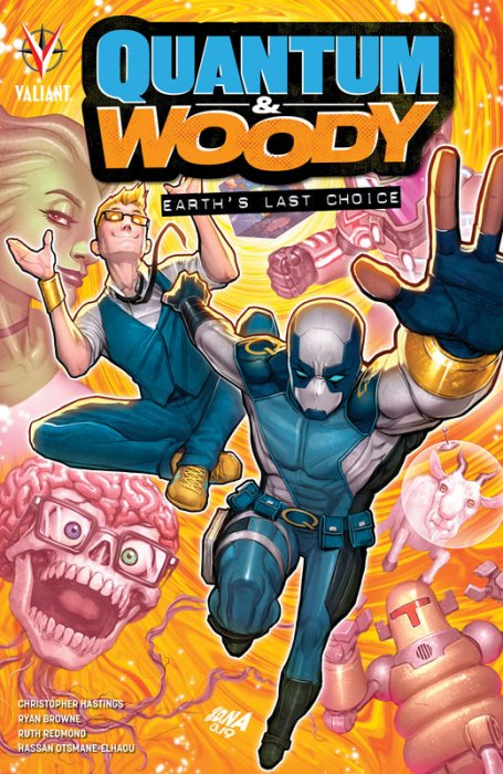 Quantum and Woody - Earth's Last Choice #1