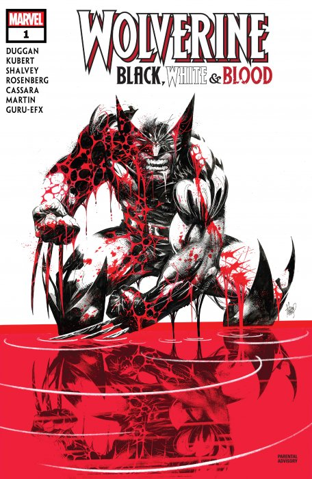 Wolverine - Black, White & Blood #1