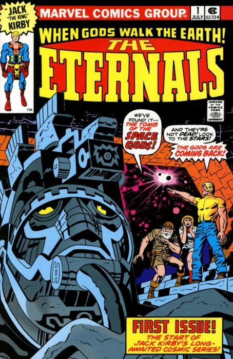 The Eternals by Jack Kirby - The Complete Collection #1 - TPB