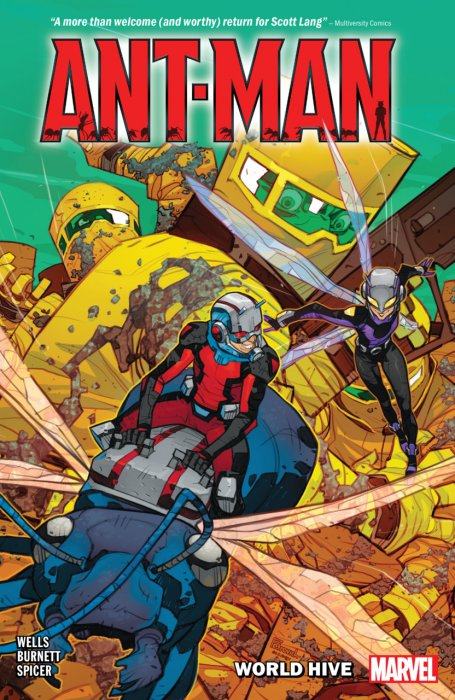 Ant-Man - World Hive #1 - TPB