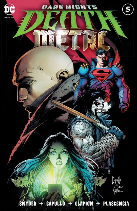 Dark Nights - Death Metal #5
