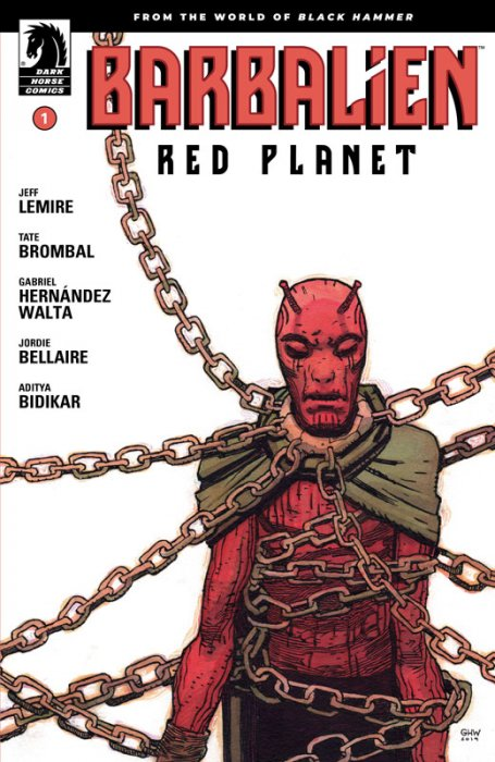 Barbalien - Red Planet #1
