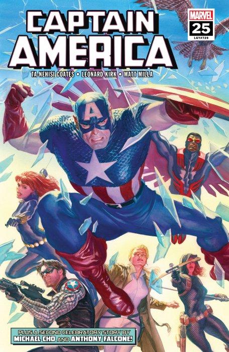 Captain America #25