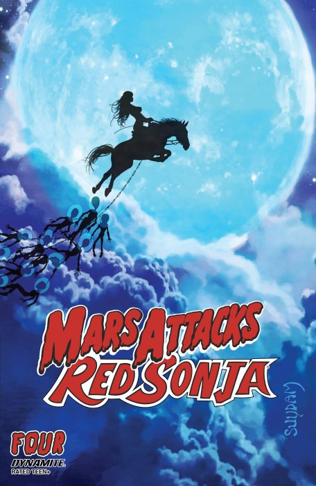 Mars Attacks - Red Sonja #4