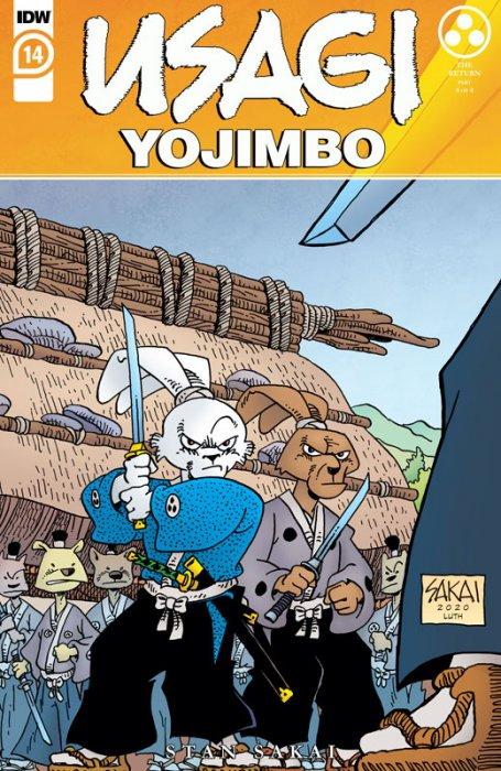 Usagi Yojimbo #14