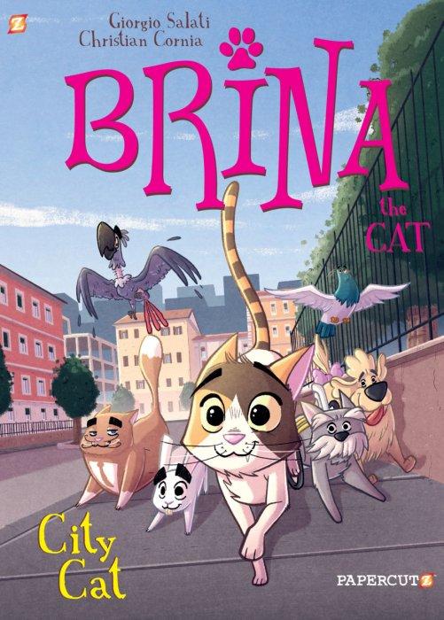 Brina the Cat #2 - City Cat