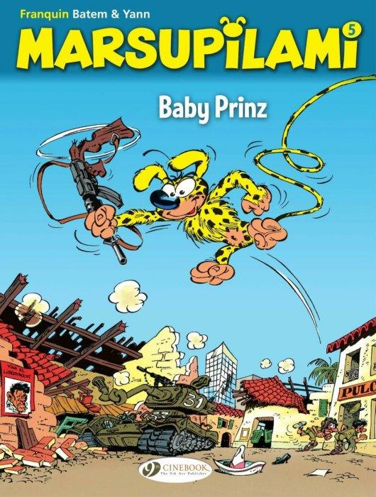 Marsupilami #5 - Baby Prinz