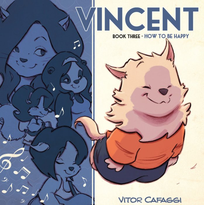 Vincent - Book 3 - How to be Happy