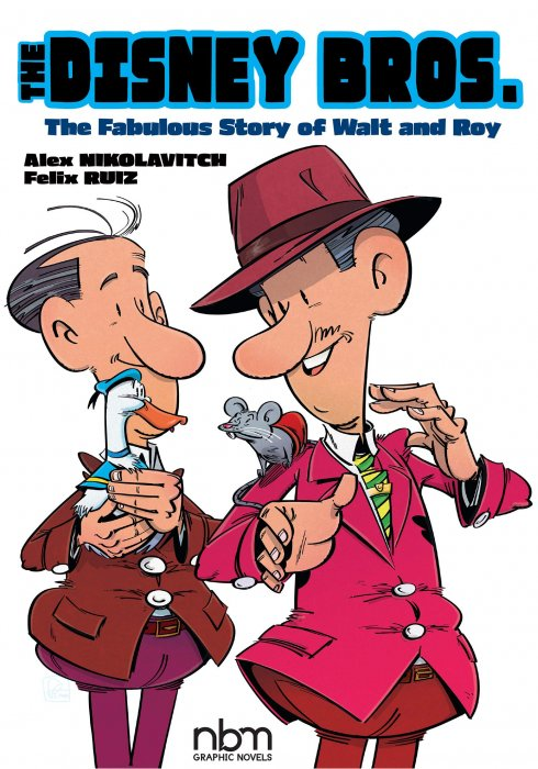 The Disney Bros. - The Fabulous Story of Walt and Roy #1