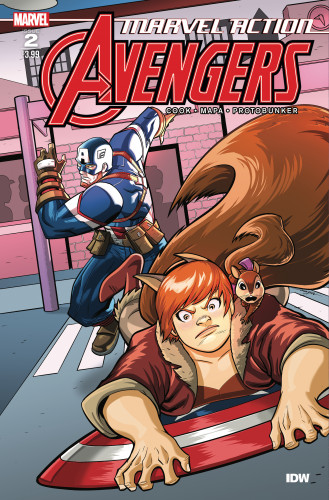 Marvel Action - Avengers #2