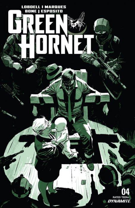 The Green Hornet #4