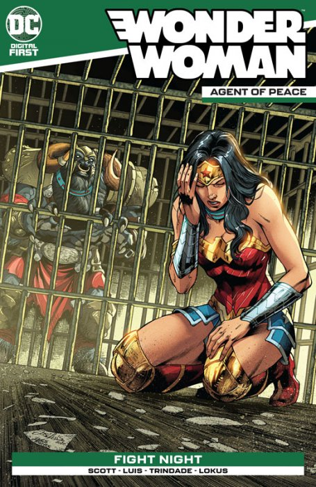 Wonder Woman - Agent of Peace #18