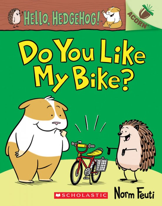 Hello, Hedgehog! #1 - Do You Like My Bike