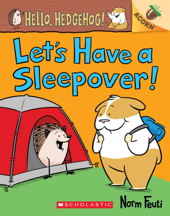 Hello, Hedgehog! #2 - Let's Have a Sleepover!