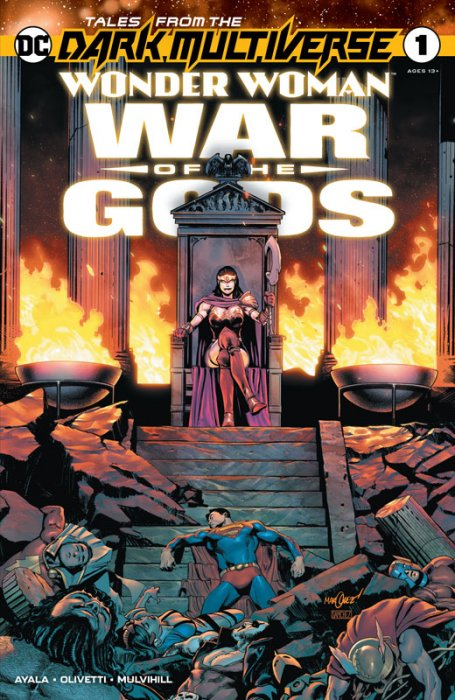 Tales from the Dark Multiverse Wonder Woman - War of the Gods #1