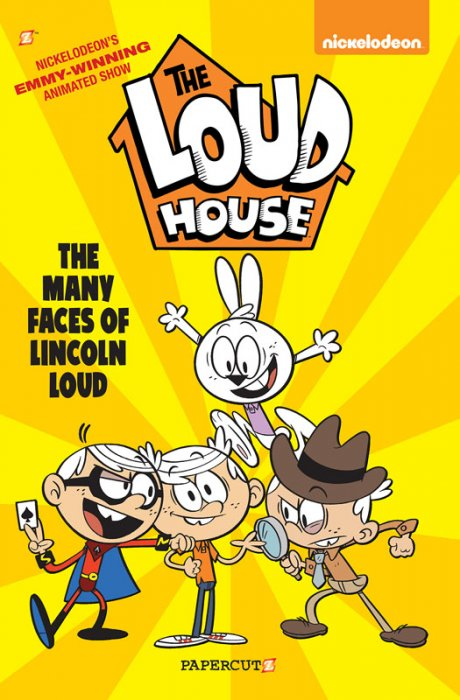 The Loud House #10 - The Many Faces of Lincoln Loud