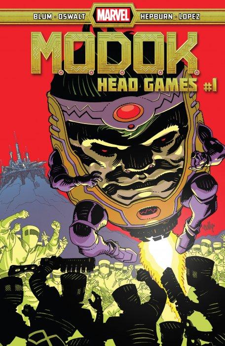 M.O.D.O.K. - Head Games #1