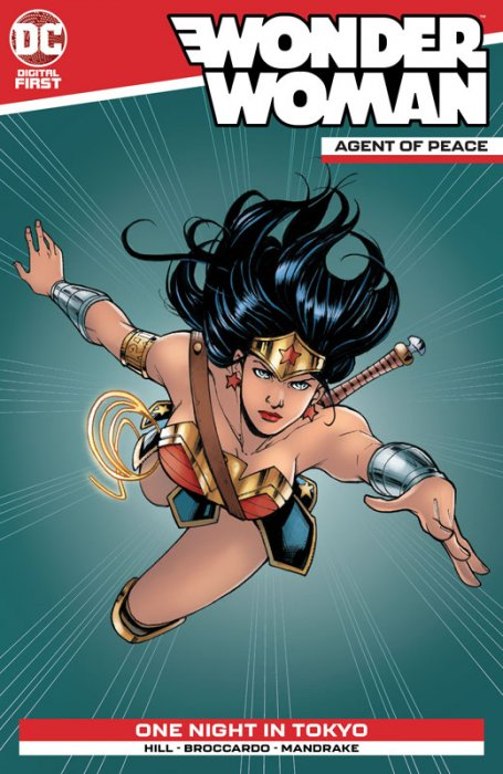 Wonder Woman - Agent of Peace #19