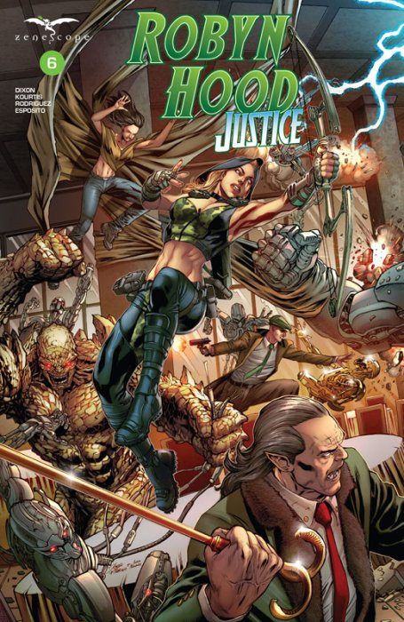 Robyn Hood - Justice #6
