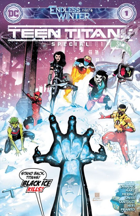 Teen Titans #1 - Endless Winter