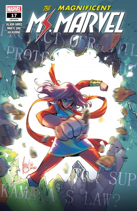 Magnificent Ms. Marvel #17