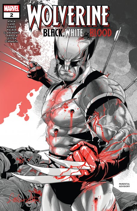Wolverine - Black, White & Blood #2