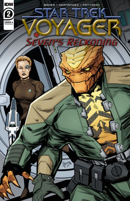 Star Trek - Voyager - Seven's Reckoning #2