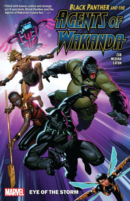 Black Panther and the Agents of Wakanda Vol.1 - Eye of the Storm
