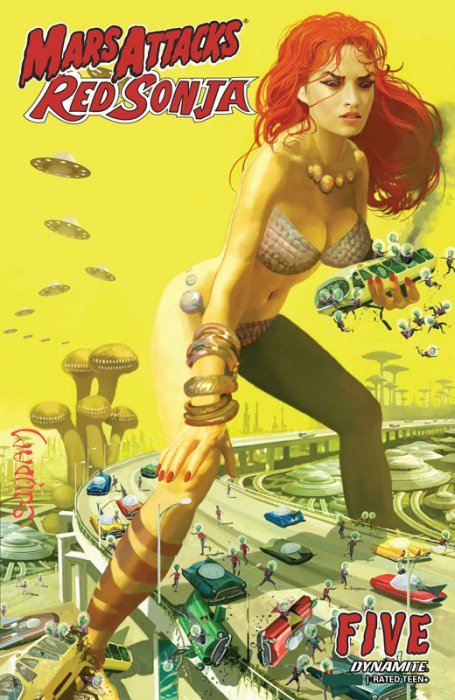 Mars Attacks - Red Sonja #5