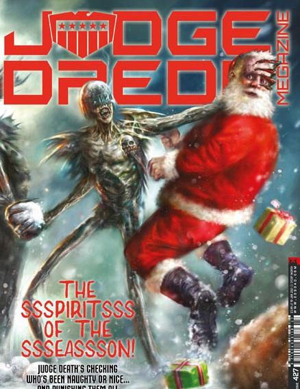 Judge Dredd Megazine #427
