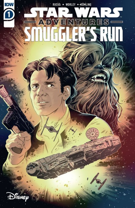 Star Wars Adventures - Smuggler's Run #1