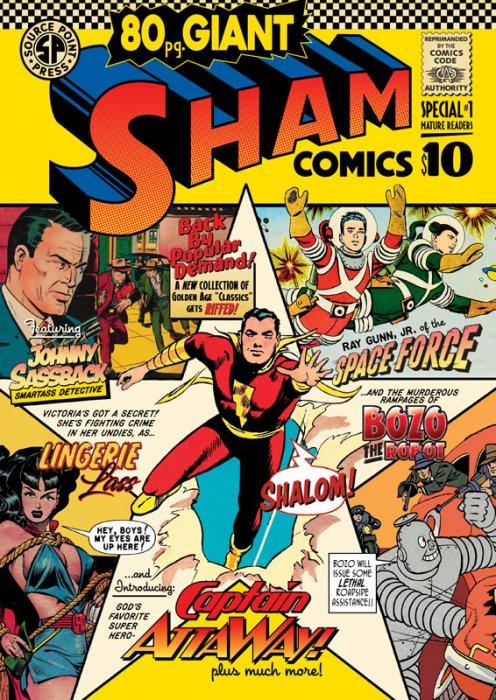 Sham Special #1 - Sham Comics 80-Page Giant