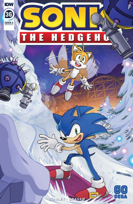 Sonic The Hedgehog #36
