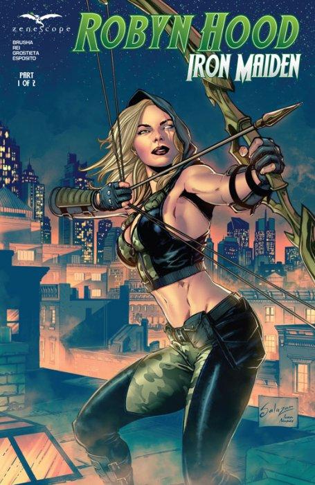 Robyn Hood Iron Maiden #1