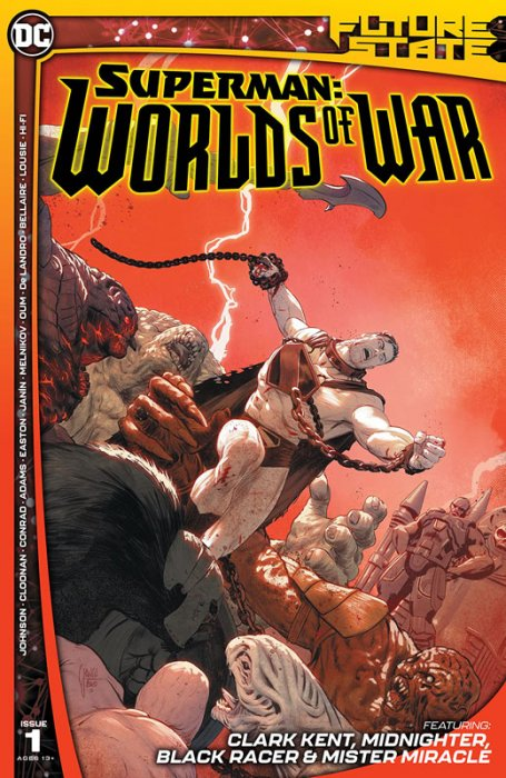 Future State - Superman - Worlds of War #1