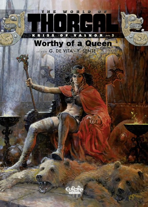 The World of Thorgal - Kriss of Valnor #3 - Worthy of a Queen