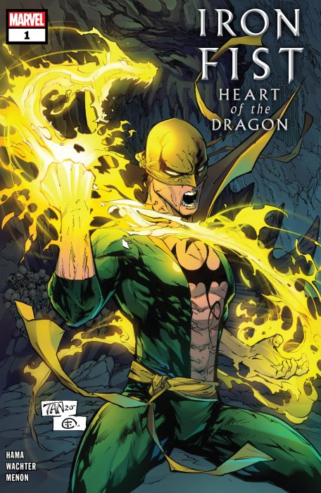 Iron Fist - Heart of the Dragon #1